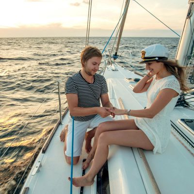Have a unique wedding on a sailing yacht