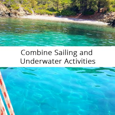 Combine Sailing and Underwater Activities