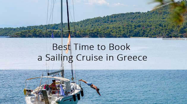 Best time to book a sailing cruise in Halkidiki