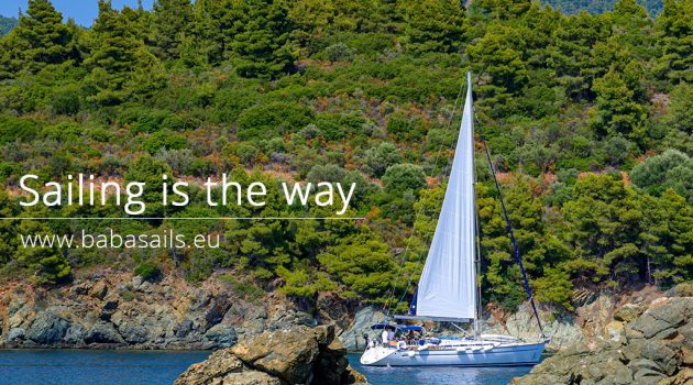 Sailing is the way