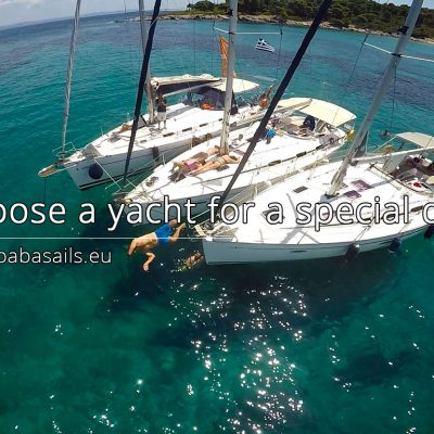 Choose a yacht for a special day