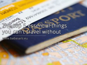 The top 5 essential things you can't travel without